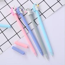 1pcs/lot Black Gel Ink pen Cartoon animal Signature Pen School & Office Supply Cute Kids Gift