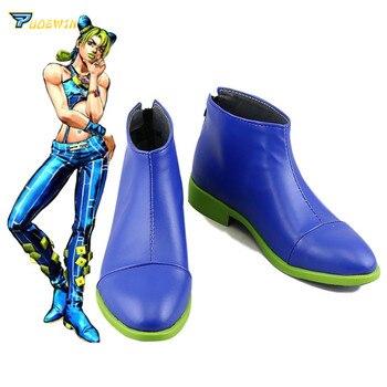 Jojo's Bizarre Adventure Jolyne Kujo Cujoh Cosplay shoes Boots