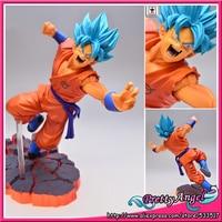 Japanese Anime Original Banpresto Dragon Ball Z/Kai SCultures Big 5 Special Vol.1 Super Saiyan Goku Gokou Action Figure