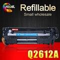 Q2612A 2612A 12a 2612 Compatível cartucho de toner para HP LJ 1010 1012 1015 1018 1020 1022 3010 3015 3020 3030 3050 M1005 série