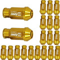 EE support 20pcs X For Honda Acura Civic Accord JDM D1 Spec Yellow Wheel Lug Nuts M12 X1.25MM W8 XY01