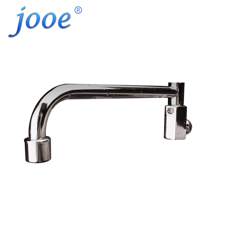 jooe chrome polished Kitchen Faucets ratation 180 degrees rotation Kitchen water tap single cold water grifo