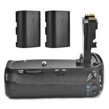 Original Meike MK-70D Handy Vertical Punho de Bateria Pack para Canon Câmera EOS 70D DSLR BG-E14 + 2x Bateria Recarregável como LP-E6
