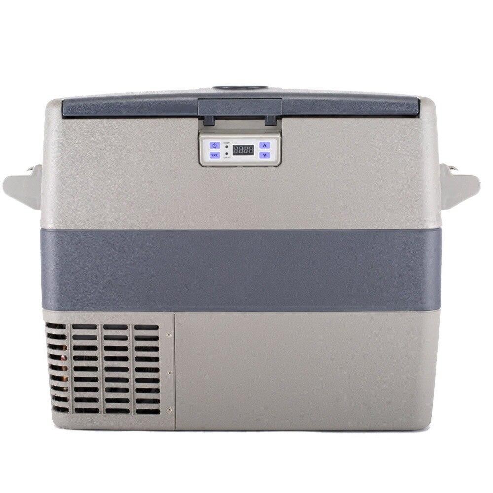 Smad 1.7 cu ft 12V Truck Refrigerator Freezer Compressor Fridge Interior Light RV Boat Car Cooler with Detachable Handle walk in cooler freezer condenser and evaporator systems with 12v 24v solar refrigetor fridge freezer compressor