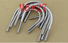 M6*27,304 321 316 stainless steel U bolt,bolt and nut,climp coupling nuts and bolts fasterner  hardware