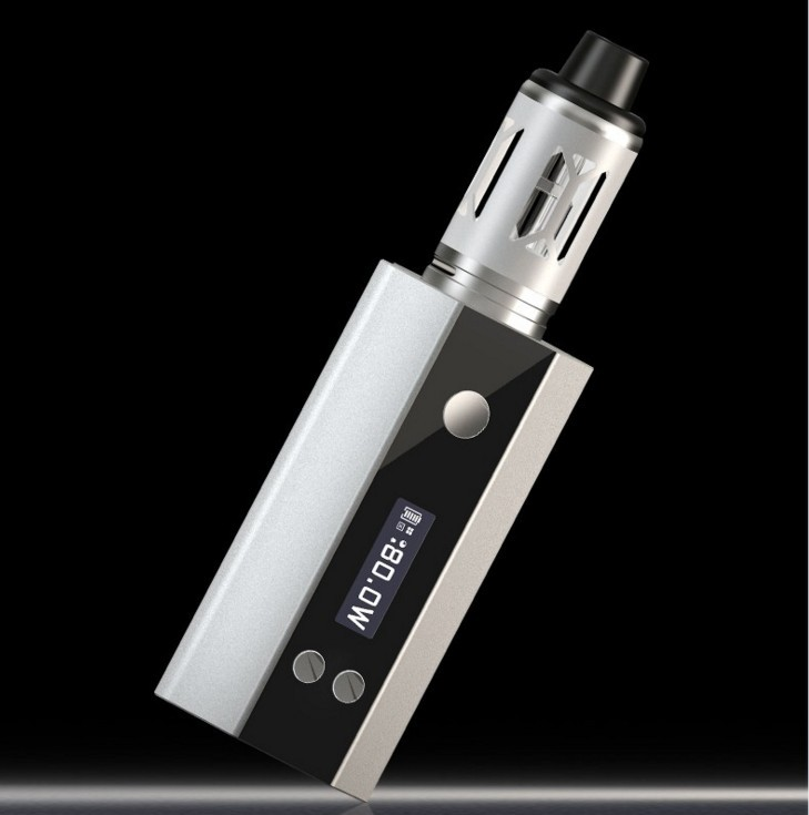 New 80w high-power steam smoke genuine smoke electronic cigarette e cigarette e cigaret kit liquid vape