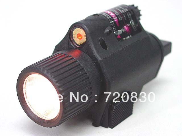 OP M6 65Lm Xenon Tactical Flashlight & Red Laser Sight Black