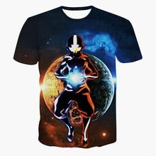 New Arrive Men Women Summer Casual tee shirts Fashion Cartoon Avatar t shirts Hipster 3D t shirt Street Hip Hop tshirts tops