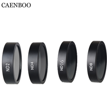 CAENBOO Lens Filter UV ND2 4 8 Star CPL Filter Set Drone Accessories For DJI Phantom 3 Advanced/Standard/Professional Pro/SE 4