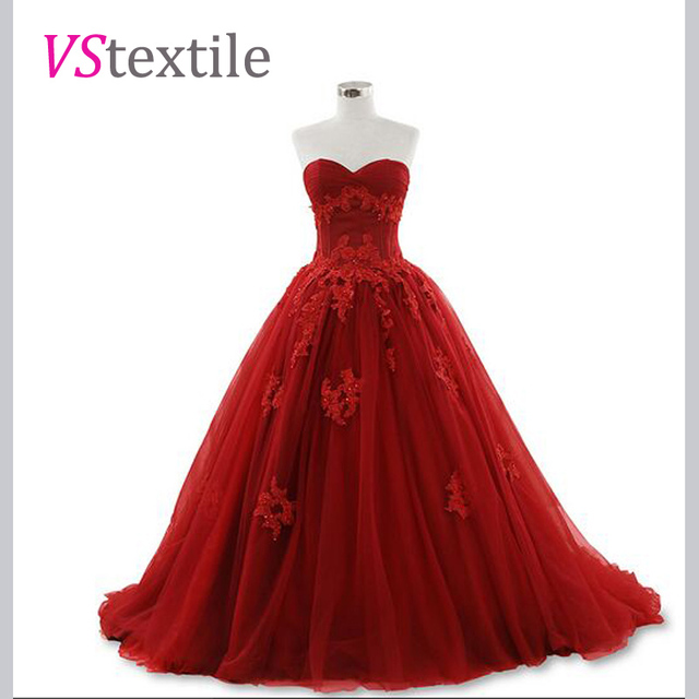 1c7e91bb5a0a1 gorgous strapless burgundy prom dresses 2018 long ball gowns new style  custom make free shipping