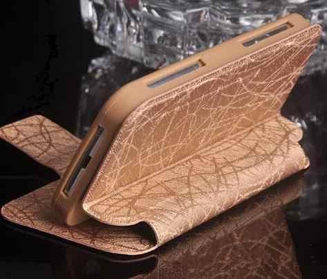 สำหรับ Philips W8510, Luxury Flip PU ฝาครอบซิลิโคนสำหรับ Philips Xenium W8510 จัดส่งฟรี