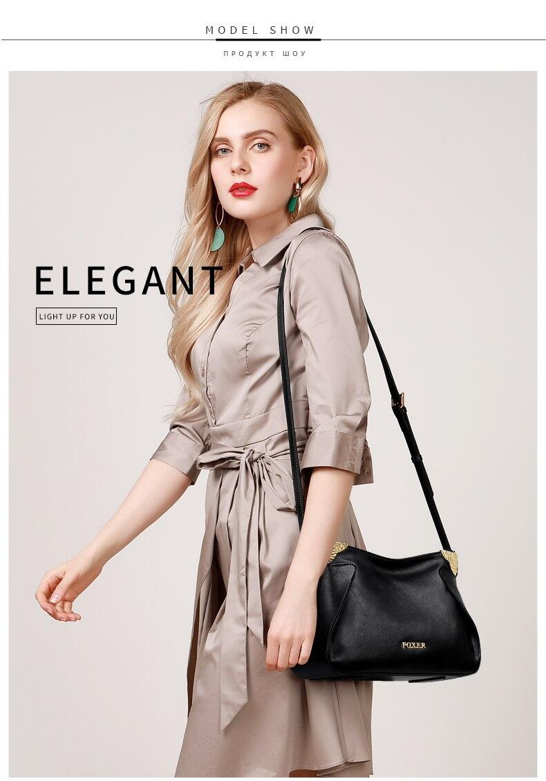 senhora estilo elegante sacos casuais