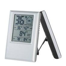 Qualité thermomètre numérique hygromètre station météo intérieure horloge température humidité testeur Max Min valeur confort niveau