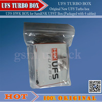 Gsmjustoncct Original New UFS Turbo Box HWK For Sam NK UFST Packaged With 4 Cables