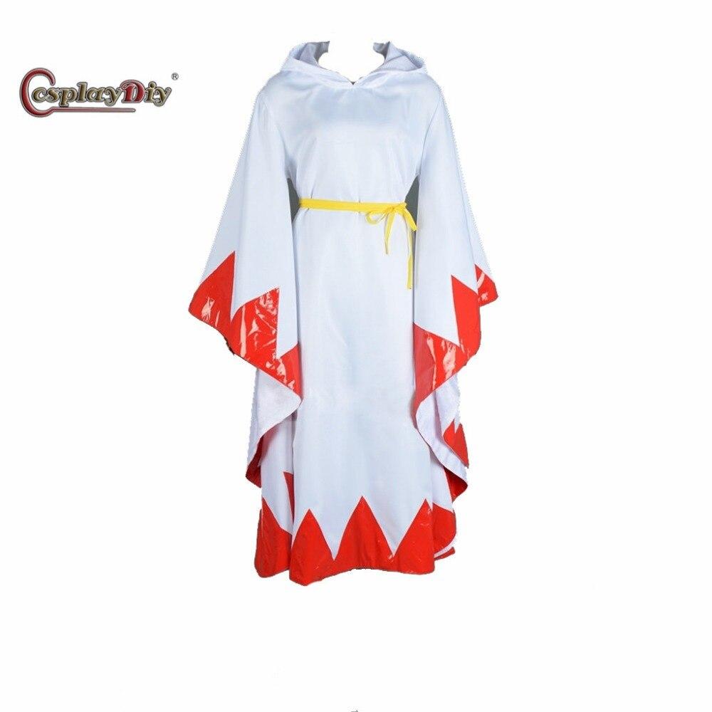 Cosplaydiy Custom Made Game Final Fantasy White Mage Adult Women Halloween Carnival Cosplay Costume J5
