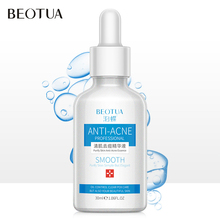 BEOTUA Hyaluronic Acid Anti Acne Face Serum Shrink Pore Remove Moisturizer Nourishing Facial Essence Anti-wrinkle