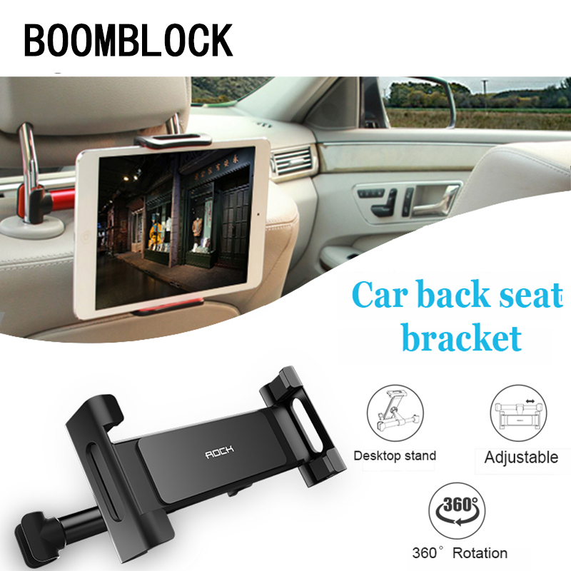 car back seat headrest mount bracket for ipad tablet pc. Black Bedroom Furniture Sets. Home Design Ideas