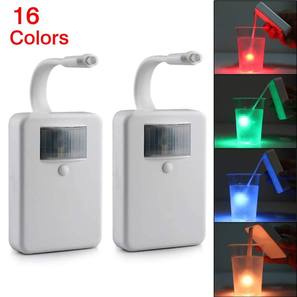 16 Color Toilet Night Light Motion Activated LED/Motion Light ...