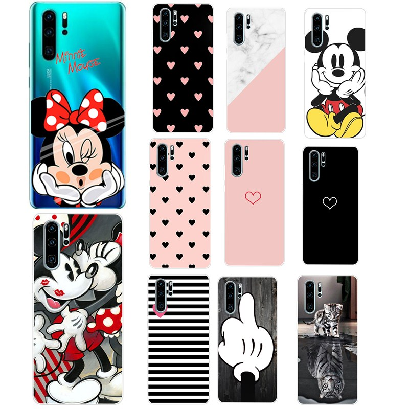 TPU For Huawei P30 Pro Phone Case Huawei P30Pro Cover Huawei P30 Pro VOG-L29 ELE-L29 P 30 Lite Case Silicone Soft TPU Back Cover