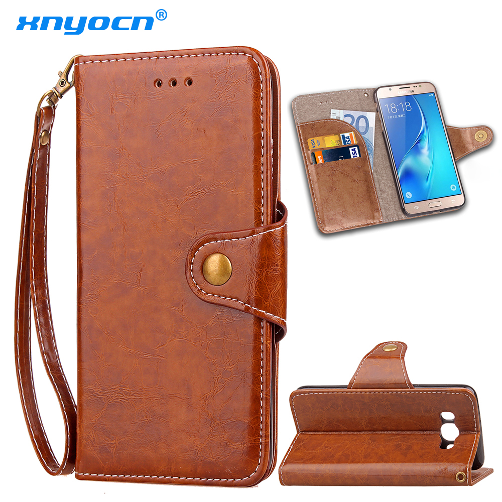 luxury leather flip for samsung galaxy j5 prime 2016 etui cover case for coque samsung galaxy j5