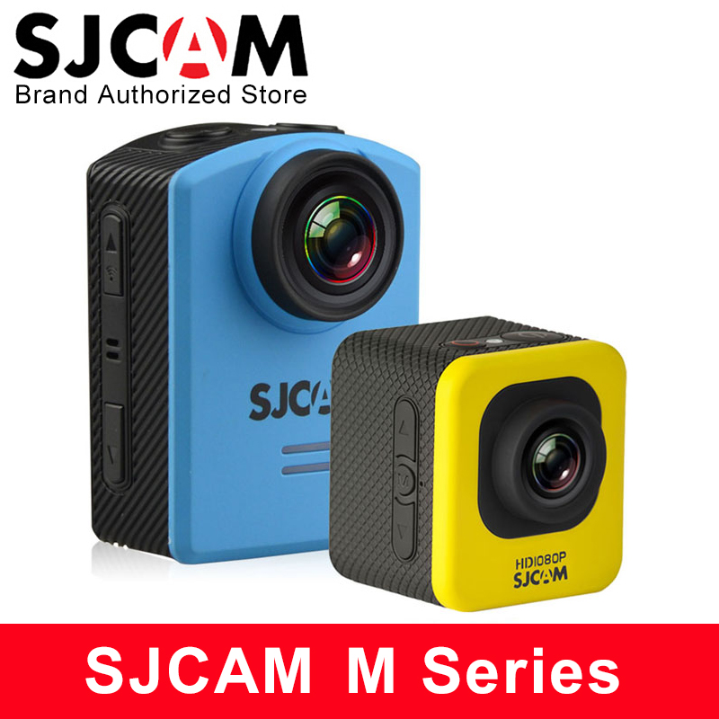 Original SJCAM M10 Wifi M20 Action Camera HD 1080P Sports DV 1.5 LCD 12MP Mini Camcorder Diving Waterproof Camera DVR sj Cam original eken action camera eken h9r h9 ultra hd 4k wifi remote control sports video camcorder dvr dv go waterproof pro camera
