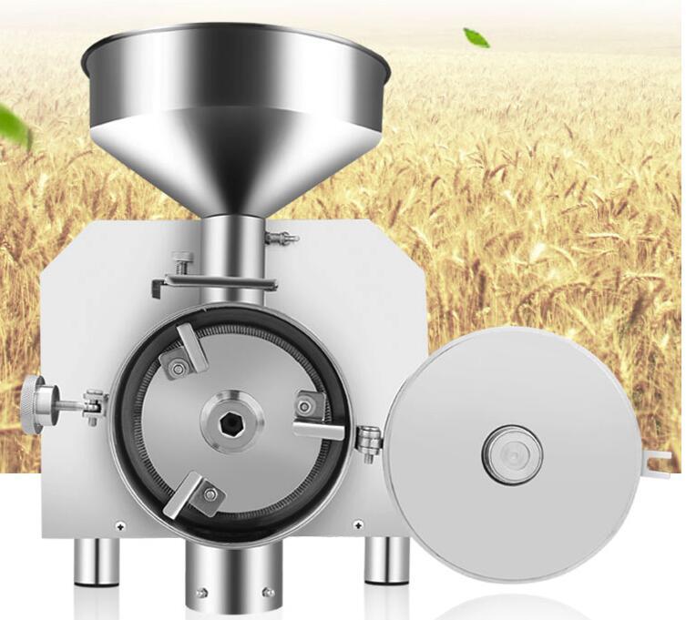 Home use 30-50kg/h high efficiency  powder making machine herb grinder machineHome use 30-50kg/h high efficiency  powder making machine herb grinder machine