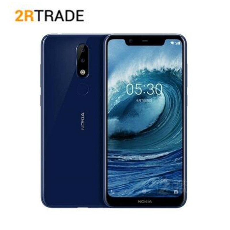 "Nokia X5 Mobile Phone 4G LTE 5.86"" Octa Core 3/4GB RAM 32/64GB ROM 13MP+5MP Dual Rear Camera Fingerprint Android 8.1 SmartPhone"