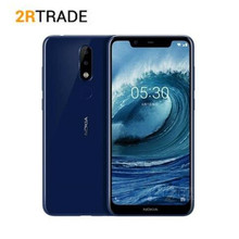 "Nokia X5 Mobile Phone 4G LTE 5.86"" Octa Core 3/4GB RAM 32/64GB ROM 13MP 5MP Dual Rear Camera Fingerprint Android 8.1 SmartPhone"