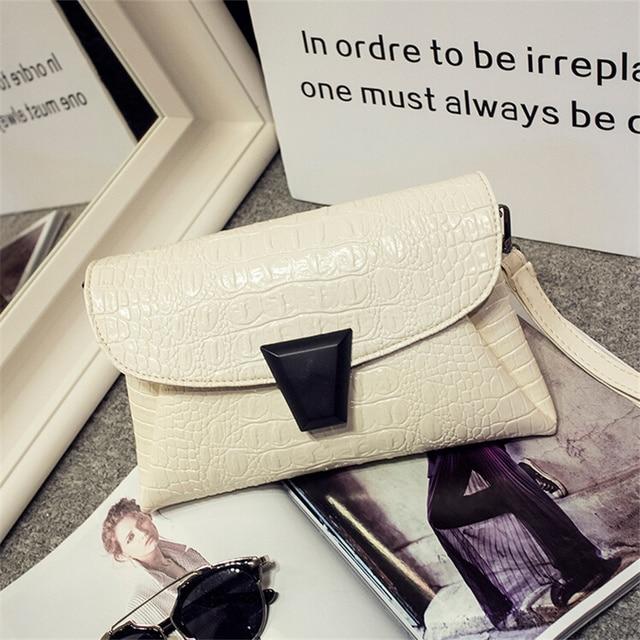 women small aligator evening handbags hotsale luxury ladies mobile purse crossbody bags casual famous designer envelope clutch
