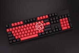 Image 5 - Taihao teclado mecânico com tiras duplas, teclado para jogo diy, cor de miami diabetes lo, preto, laranja, ciã, arco íris, cinza claro