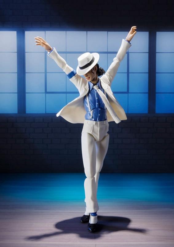 Michael Jackson Smooth Criminal Moonwalk SHF 14cm PVC Action Figure New In Box