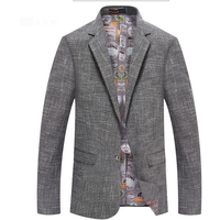 Hot Sell Men New Dress Business Casual Suit Spring Autumn Slim Solid Full Sleeve Single Button