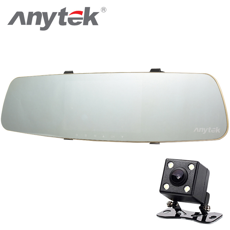 Anytek Car DVR 170 Degree Lens USB 2.0 Car Camera 1080P HD AR0330 SENSOR WDR Parking Monitor Night Vision 32G Tachograph anytek car dvr a100 novatek 96650 car camera ar0330 1080p wdr parking monitor night vision black box