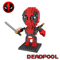 Deadpool DIY Mini Building Blocks HSANHE Super Heroes Gift For Children DIY Bricks Assembled Toys