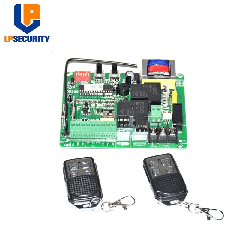 Universal AC230V Control Panel PCB Sliding Gate Opener Motor Control Unit PCB Controller Circuit Board Electronic Card