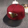 Hombres casquillo de hip-hop hombre ocio gorra de béisbol de ocio femenino chapeau unisex mujeres brim hueso recto snapback 5 colores