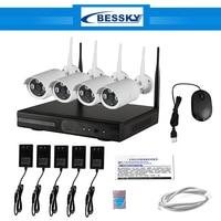 CCTV System 960P 8ch HD Wireless NVR Kit Outdoor IR Night Vision IP Camera Wifi Camera