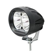 Супер яркий мотоцикл пятно света светодиодный фары Противотуманные фары мотоциклы Spotlight 20 Вт Подсветка фары 6000 К белый DC 12 В 24 В