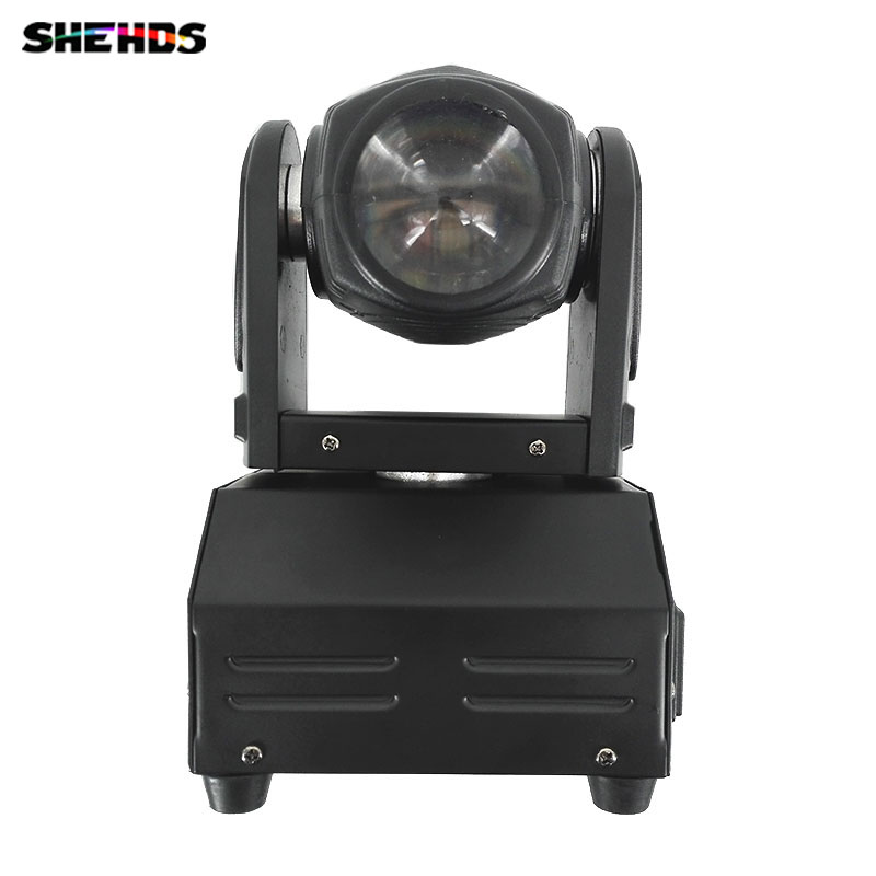 2pcs/lot Fast shipping 10W RGBW mini led beam moving head light beam dj light mini led Free Shipping SHEHDS Stage Lighting