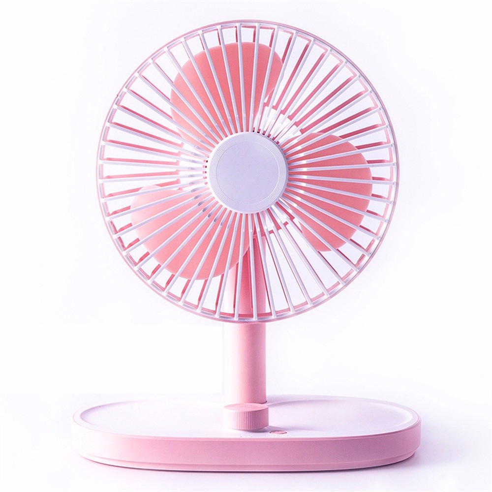 Mini Creative Removable Desktop Fan USB Charging Washable Cooling For Home Office Big
