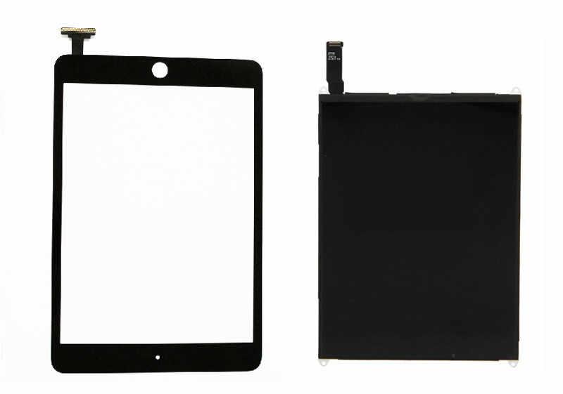 شاشة الكريستال السائل لوحة شاشة Monitoer وحدة + الأسود محول الأرقام بشاشة تعمل بلمس الزجاج الاستشعار لباد البسيطة 1 1st A1432 A1454 A1455