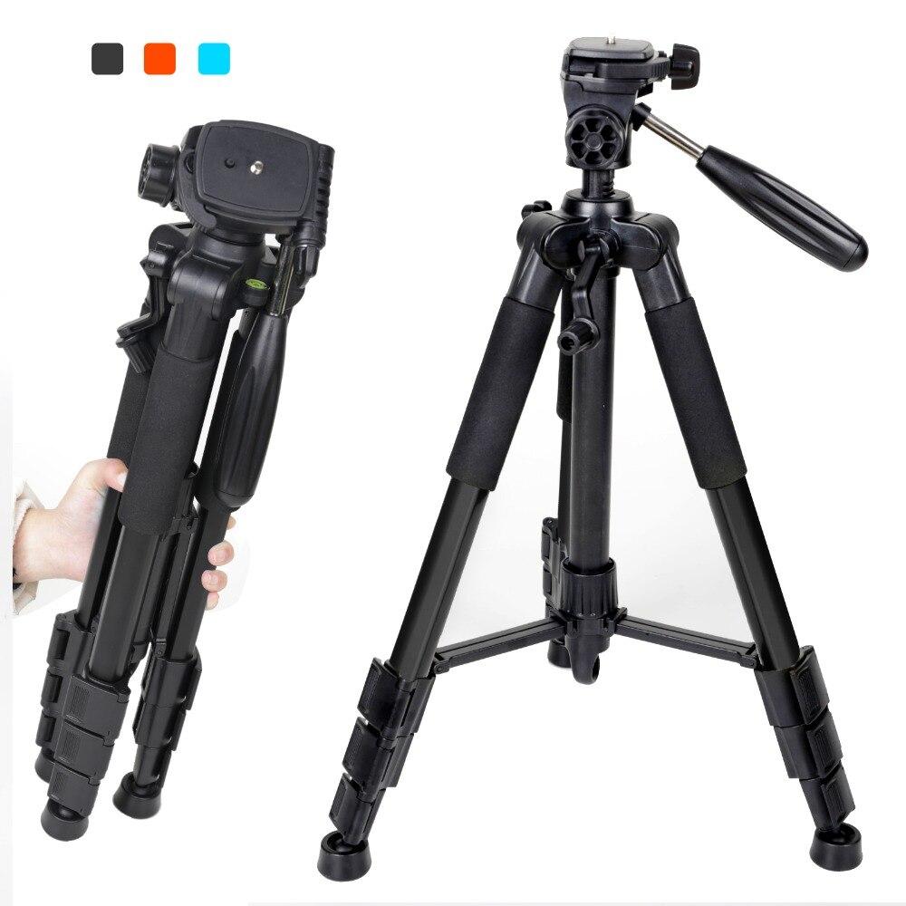 Nouveau Zomei Q111 Professionnel En Aluminium Trépied Caméra Accessoires Stand avec Pan Head pour REFLEX DSLR Appareil Photo Numérique Livraison Gratuite