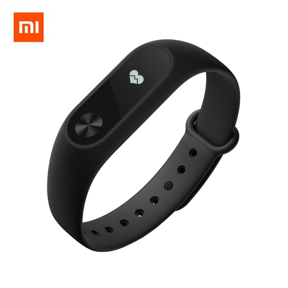 Originale Xiaomi Mi Band 2 Smart Wristband Del Braccialetto Miband 2 Inseguitore di Fitness Smartband Heart Rate Monitor OLED per iOS Android