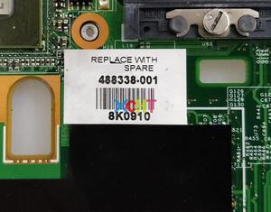 Image 3 - Für HP CQ50 CQ60 CQ70 G60 G70 Serie 488338 001 watt G98 605 U2 PM45 48.4I501.021 Motherboard Mainboard Getestet & arbeiten perfekte