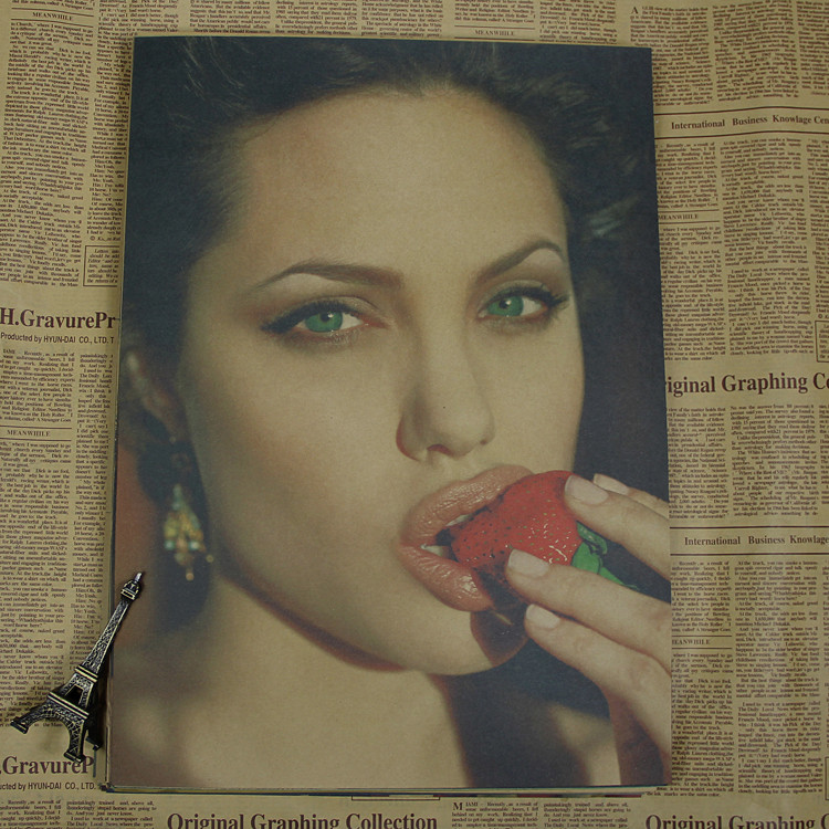 Angelina Jolie / Monica Bellucci / Nina Dobov / Sophie Marceau - Διακόσμηση σπιτιού - Φωτογραφία 4