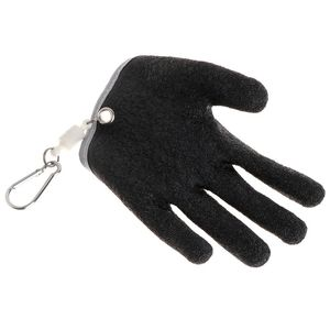 Image 4 - 1PC Non Slip Latex Vissen Handschoenen Met Magneet Release Visser Beschermen Hand Vis Grab Anti Skid Capture Veiligheid Hand handschoenen