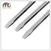 Cr V Jumbo Slotted Magnetic Screwdriver extra long Go Through Shaft Flat Slotted Screwdriver 32/40/48 Pry Bar Destornillador