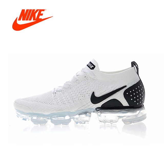 detailed look f8eca a0717 US $62.37 67% OFF|Original New Arrival Authentic Nike Air VaporMax Flyknit  2.0 W Men's Breathable Running Shoes Sport Outdoor Sneakers 942842 103-in  ...