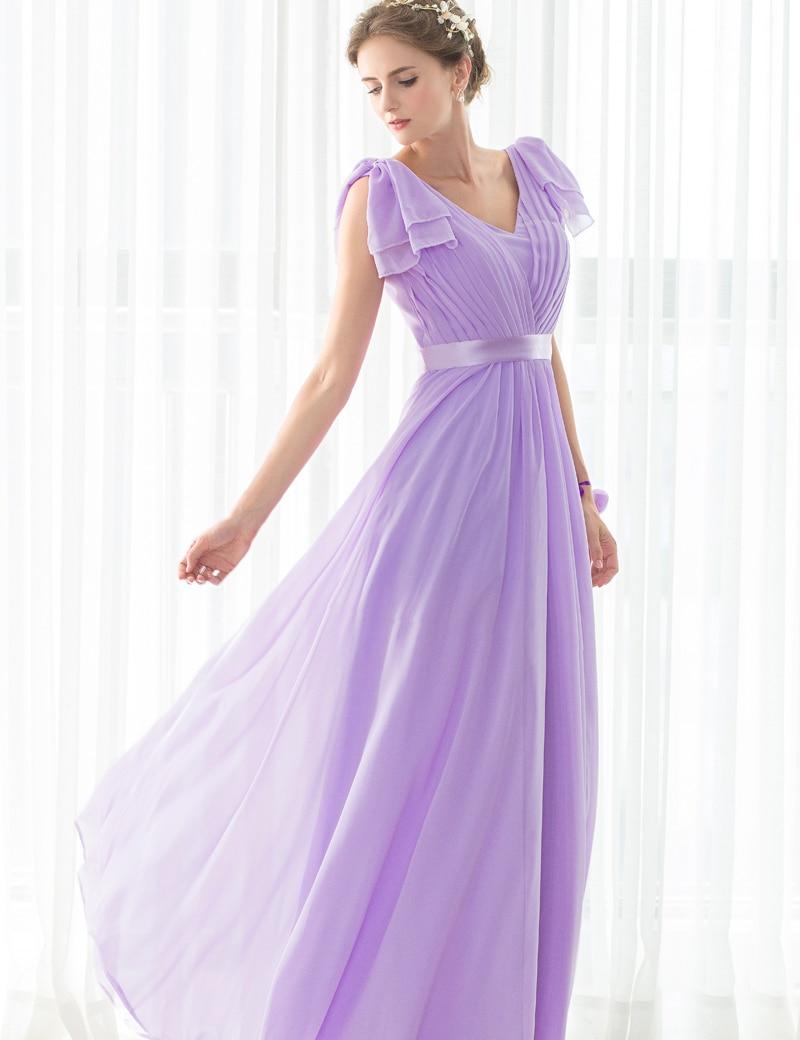 2017 hot sale long purple bridesmaid dresses chiffon pleat 2017 hot sale long purple bridesmaid dresses chiffon pleat sleeveless deep v neck bandage bridal party gowns cheap dresses in bridesmaid dresses from ombrellifo Gallery