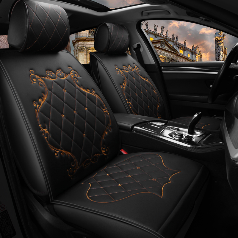 6D Car Seat Cover,Senior Leather,Sport Car Styling,Car-Styling, Universal Seat Cushion For LEXUS,RX, ES, CT ,GX etc SUV Series F